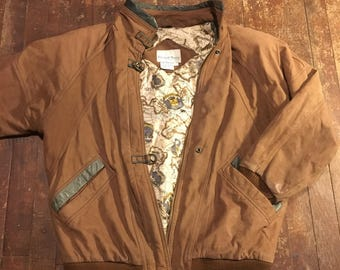 Vintage Boundary Waters Leather Jacket