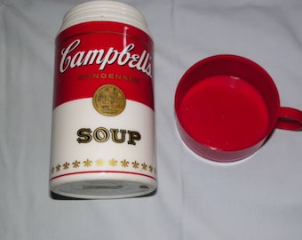 1998 Vintage Campbells Soup Thermos