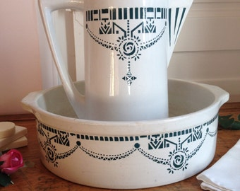 Wash basin pitcher etsy - Sal de bain ...