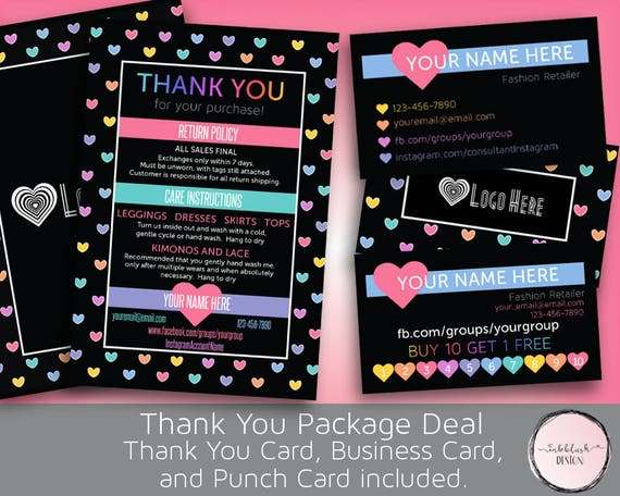 punch cards for sale