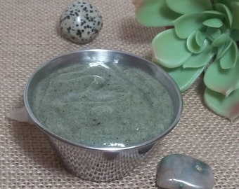 Nettle scalp scrub conditioner / dry scalp conditioner/scalp scrub/dandruff remover/scalp cleaner/itchy scalp/pre poo conditioner