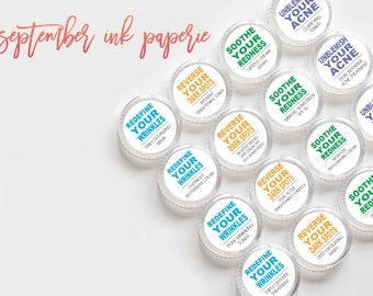 Rodan + Fields Regimen Container Stickers