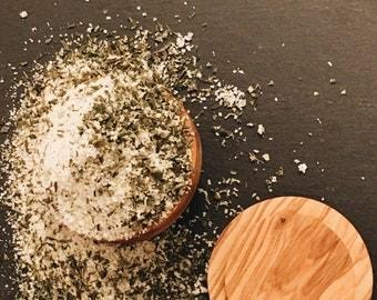 Lemon Herb Finishing Salt