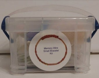 Small Memory Wire Bracelet Kit
