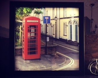 So British! - Lightbox featuring a telephone box