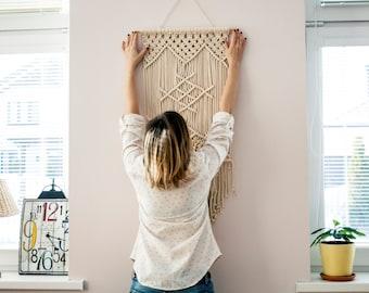 macrame wall hanging macrame wall art woven wall hanging boho wall decor wall tapestry woven wall tapestry macrame home decor - Home Decor Wall Hangings