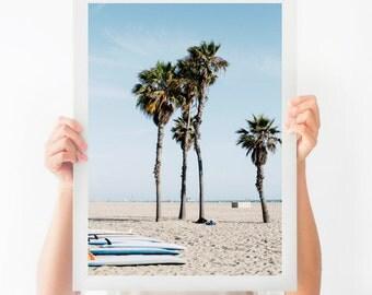 Printable Beach Photograph, California Surf Print, Los Angeles Photograph, Printable Art, Printable Photography, Ocean Avenue Download