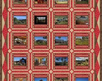 Custom photo quilt, photo quilt, memory quilt, art quilt, custom art quilt