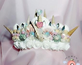 Beauty mermaid crown
