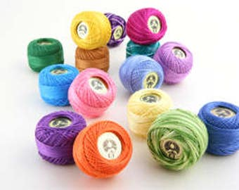 Embroidery thread,KOTON PERLE NO:8, Ribbon Embroidery thread, Patchwork thread, Punch Embroidery thread, Madame Tricote, embroidery rope