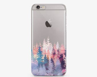 Forest For Samsung Galaxy Case Floral Phone iPhone Case For Galaxy 7 Edge Case iPhone 7 Clear Case LG G4 iPhone 6 Clear Samsung S6 1 AC1007