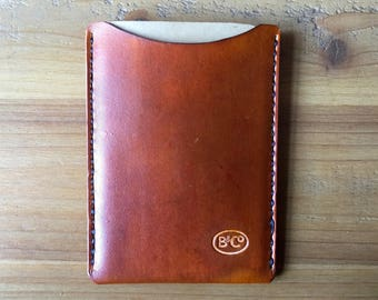 Leather sleeve for field notes