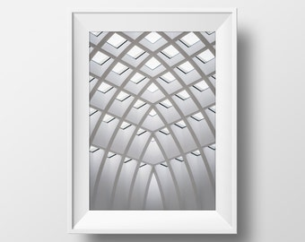 Architecture Print, Urban Art, Architectural Photography, Art, Diagonal, Geometric, Building Photography, Print, Instant Download Art