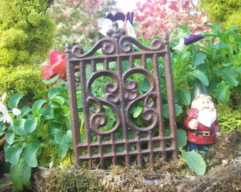 Fairy garden gate Etsy