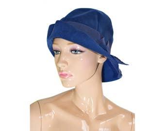 Vintage Mack Rotterdam fedora blue hat