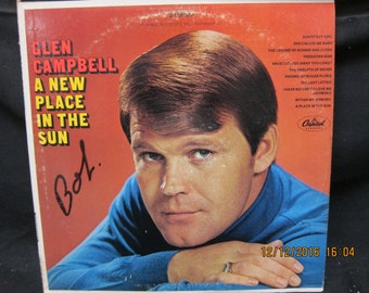 Glen Campbell - A Place in the Sun Capitol Records