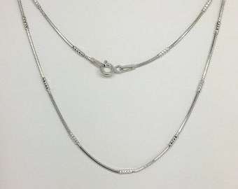 925 Stering Silver Snake Chain