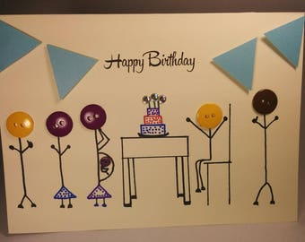 Hand-Drawn Special Occasion Greeting Cards