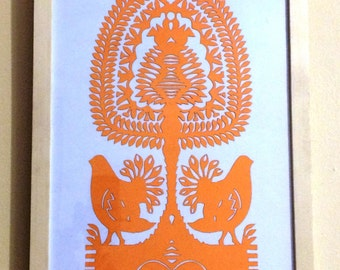 Original papercuts from Kurpie called wycinanki #16