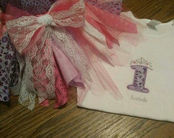 Tutu set for birthday*customize
