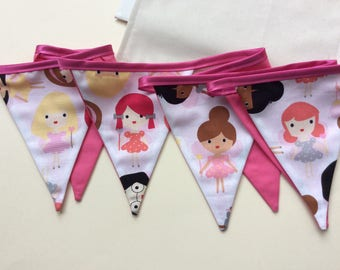 Fairy Bunting in a Bag