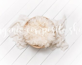 Digital Prop/Composite/Backdrop {Organic Bamboo Bowl on White Wood}