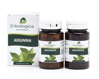 Arginine capsules, 2 packs