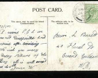 Postcard - BETHNAL GREEN POSTMARK 1907