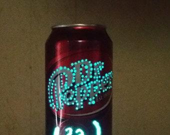 Dr Pepper can light