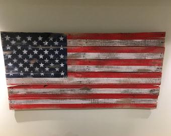 American Flag pallet flag
