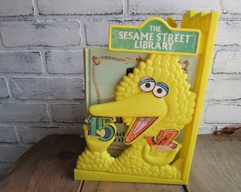 Sesame Street Bookshelf Muppets Inc 1970s