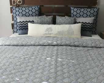 Diamond Indigo Quilt