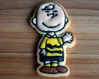 Charlie Brown Cookie Cutter and Stamp