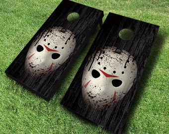 Friday The 13th Cornhole Boards