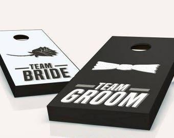 Wedding Shower Game Cornhole Set