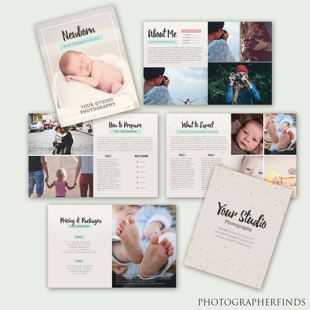 Newborn Photography Magazine - 10 pages - Photographer Newborn ...