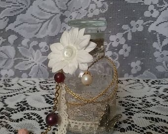 Little Shabby Chic Altered Bottle