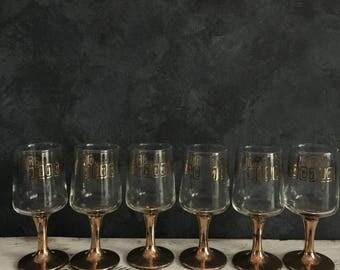 Vintage art deco glasses