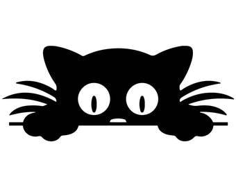 Celebrity mugshots black and white cat