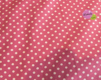 Jersey points Combined Fabric Moles pink dark pink altrosa (14,00 EUR / m)