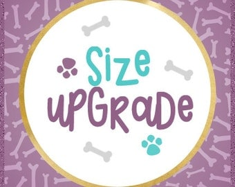 Size Upgrade - Dog Tee Size Upgrade