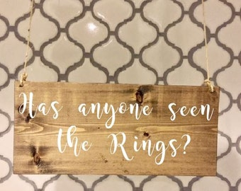 Has anyone seen the Rings/Ring Bearer Signs/Ring Bearer Sign/Flower Girl Signs/Wedding Entrance/Wedding Ceremony/Wedding Sign/Rustic Wedding