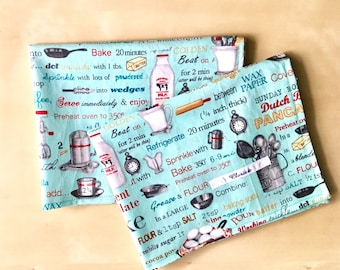 """Set of 2 placemats """"American"""""""