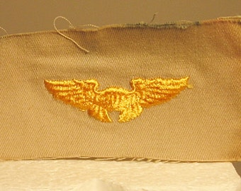 WWII USAAF Cloth Instructor Wing