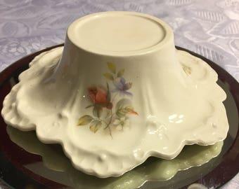 Unique handmade Porcelain candle holder elegantly detailed
