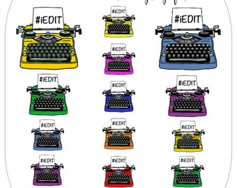 Typewriter Set - #iEDIT