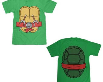 Teenage Mutant Ninja Turtles Raphael Shell Shirt