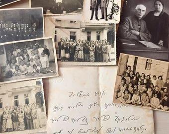 Vintage Photos- European Hebrew'Jewish Family- 1930's