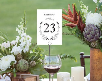 Wedding Table Number Signs, Table Cards, Table Decor, Tented Table Numbers, Reception Table numbers cards Wedding Decoration