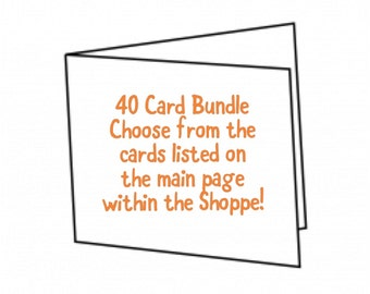 40 Card Bundle Package